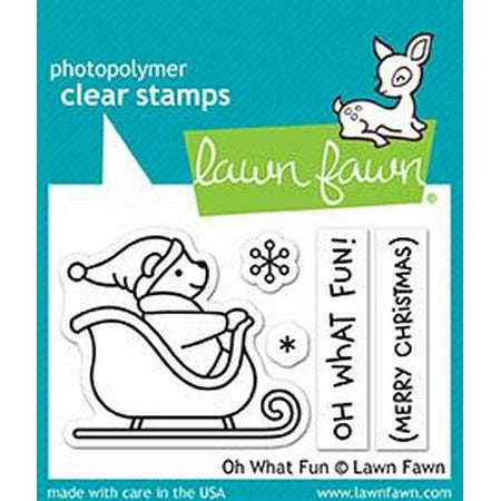 Lawn Fawn - Oh What Fun Stamps