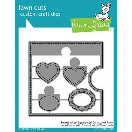 Lawn Fawn - Reveal Wheel Square Add-On Dies
