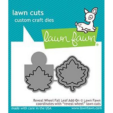 Lawn Fawn - Reveal Wheel Fall Leaf Add-On Dies