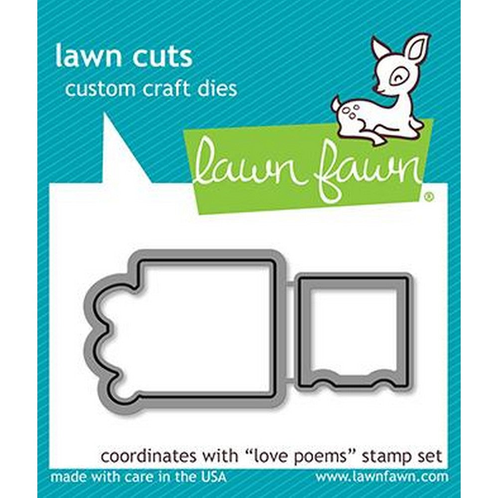 Lawn Fawn - Love Poems Dies