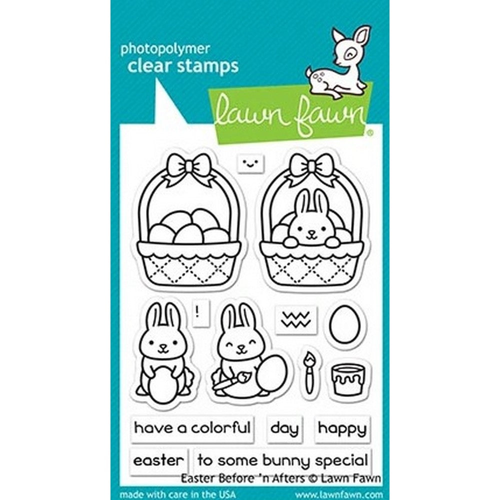 Lawn Fawn - Easter Before 'n Afters Stamps