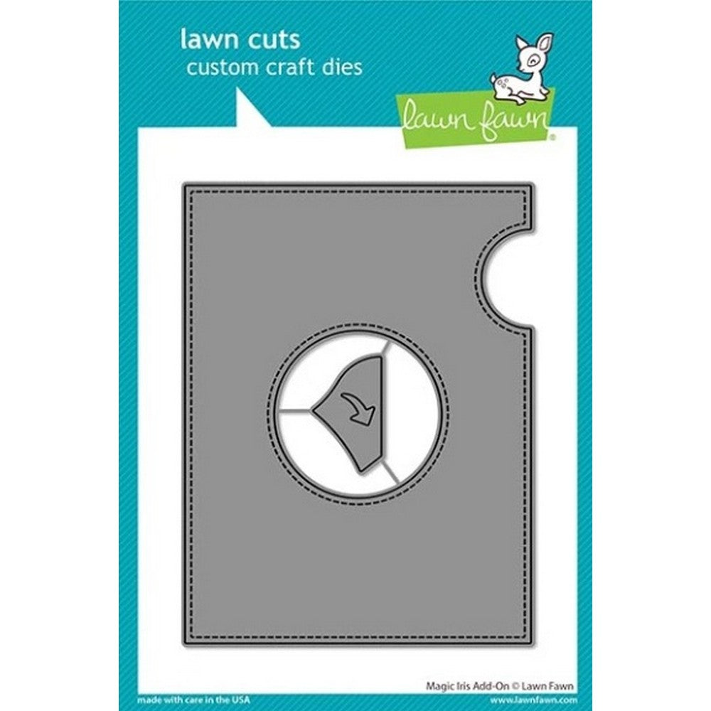Lawn Fawn - Magic Iris Add-On Dies