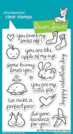 Lawn Fawn - My Silly Valentine Stamps