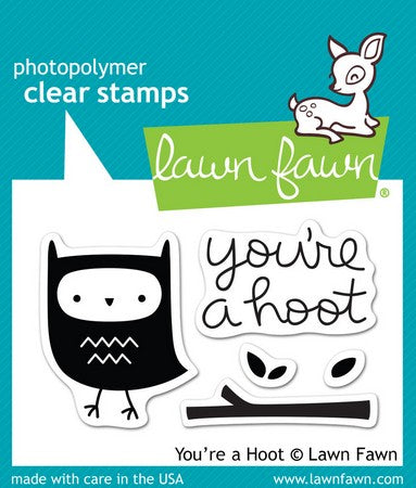Lawn Fawn - You're A Hoot Stamps