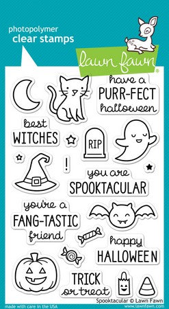 Lawn Fawn - Spooktacular Stamps