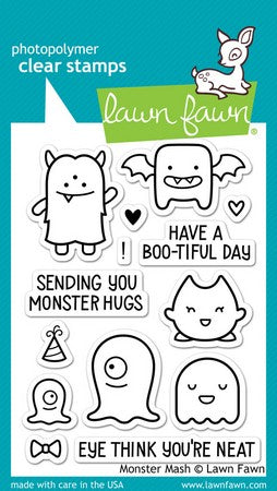 Lawn Fawn - Monster Mash Stamps