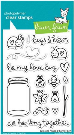 Lawn Fawn - Bugs & Kisses Stamps