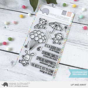 Mama Elephant - Up & Away Stamps