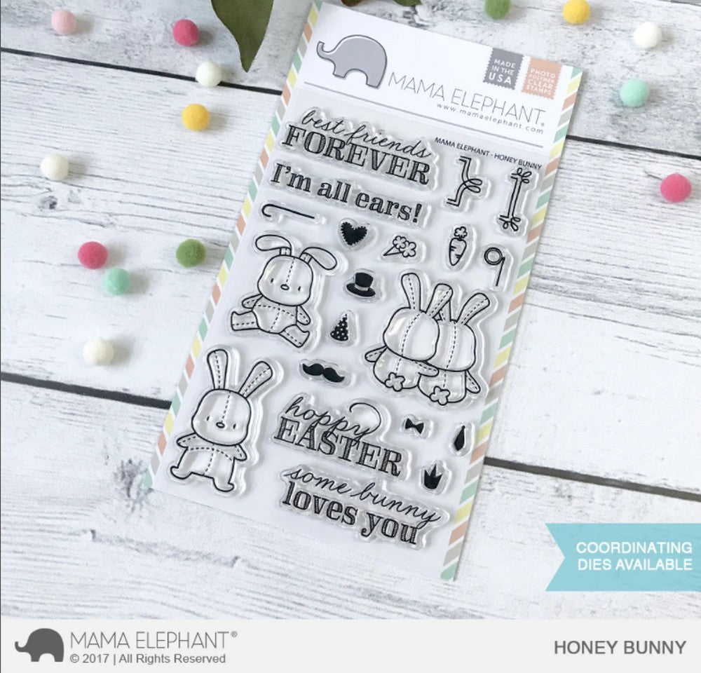 Mama Elephant - Honey Bunny Stamps
