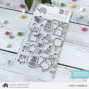 Mama Elephant - Party Animals Stamps