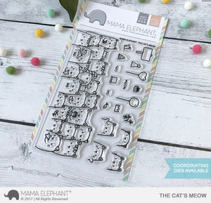 Mama Elephant - The Cat's Meow Stamps