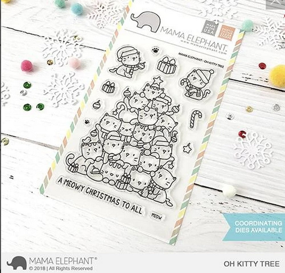Mama Elephant - Oh Kitty Tree Stamps
