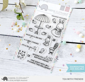 Mama Elephant - Tea With Friends Stamps