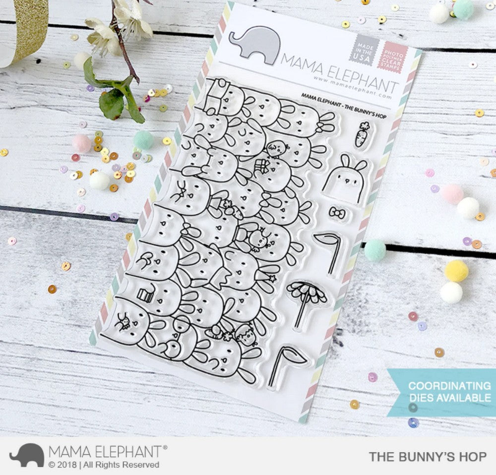 Mama Elephant - The Bunny's Hop Stamps