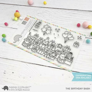 Mama Elephant - The Birthday Bash Stamps