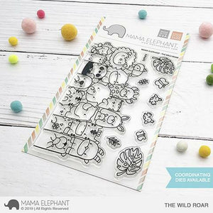 Mama Elephant - The Wild Road Stamps