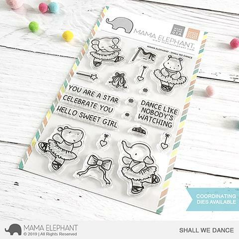 Mama Elephant - Shall We Dance Stamps