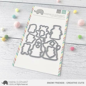 Mama Elephant - Snow Friends Dies