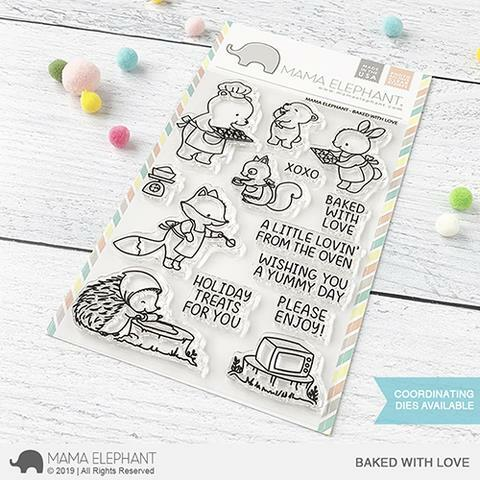 Mama Elephant - Baked With Love Stamps