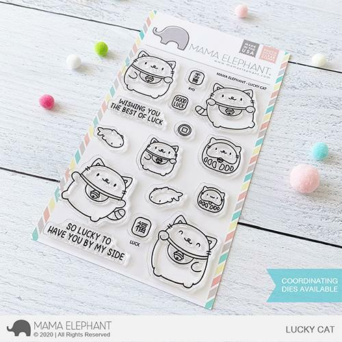 Mama Elephant - Lucky Cat Stamps