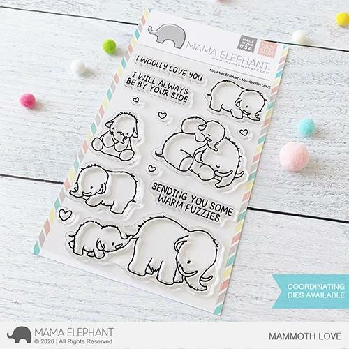 Mama Elephant - Mammoth Love Stamps