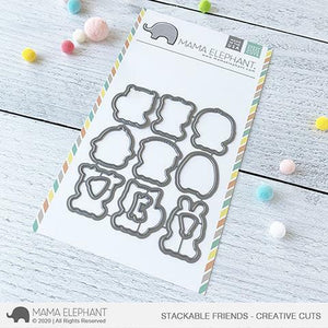 Mama Elephant - Stackable Friends Dies