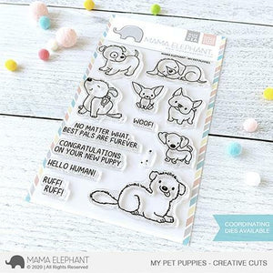 Mama Elephant - My Pet Puppies Stamps