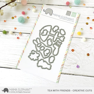 Mama Elephant - Tea With Friends Dies