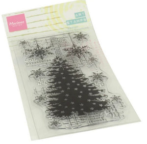 Marianne Design - Clear Stamps - Christmas Tree