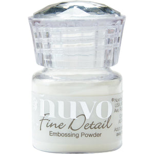 Nuvo - Fine Detail Embossing Powder - Crystal Clear