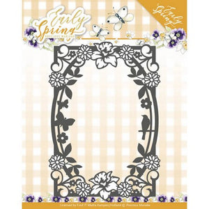 Precious Marieke - Early Spring - Spring Flowers Rectangle Frame