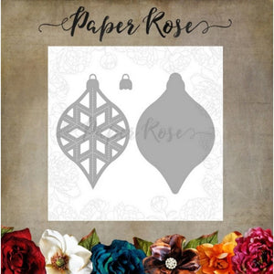 Paper Rose - Dies - Crystal Ornament Layer 2