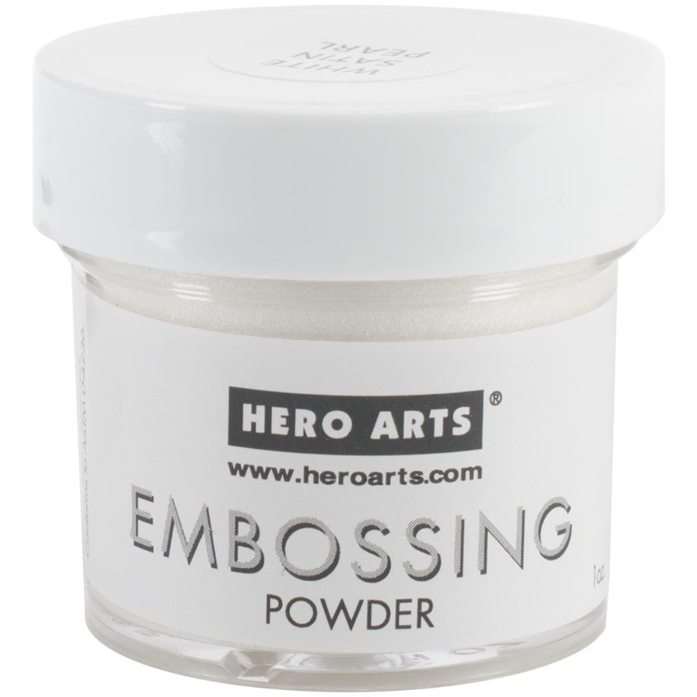 Hero Arts - Embossing Powder - White Satin Pearl