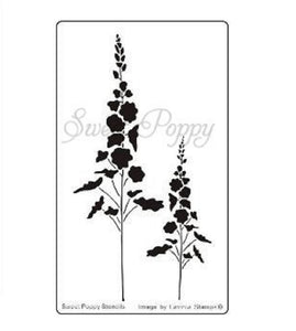 Sweet Poppy - Stencils - Wildflowers