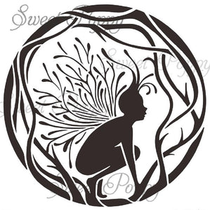 Sweet Poppy - Stencils - Fairy Circle