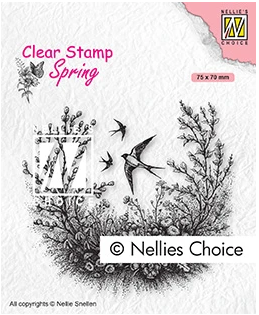 Nellie's Choice Stamps - Spring Is In The Air