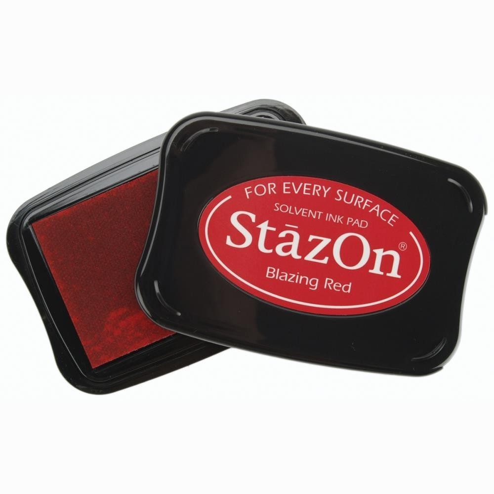 Staz-On - Solvent Ink - Blazing Red