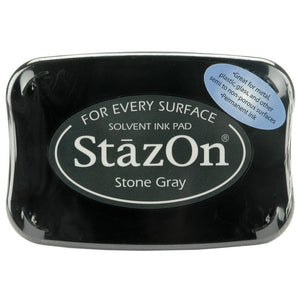 Staz-On - Solvent Ink - Stone Gray