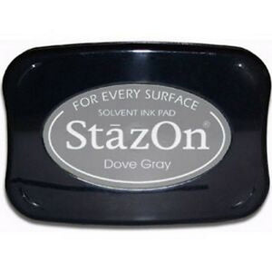 Staz-On - Solvent Ink - Dove Gray