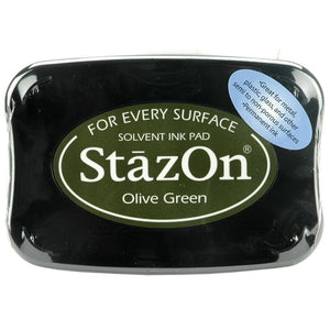 Staz-On - Solvent Ink - Olive Green