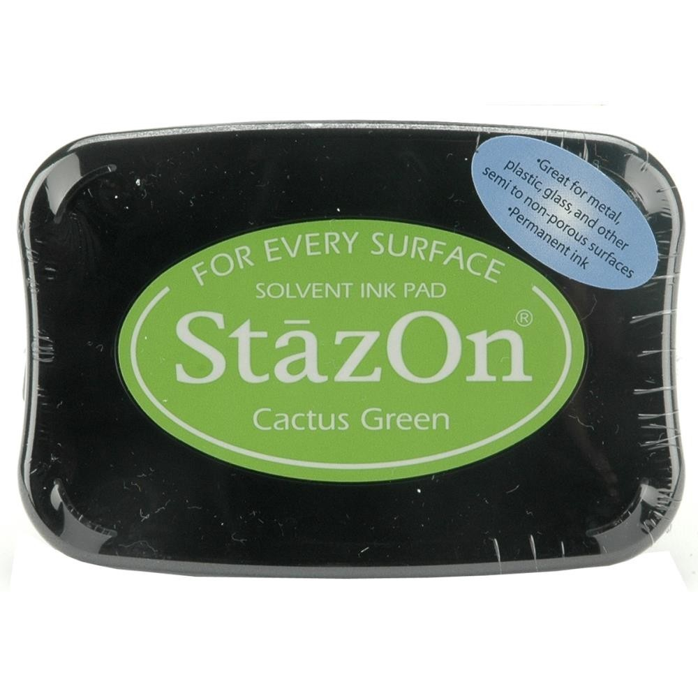 Staz-On - Solvent Ink - Cactus Green