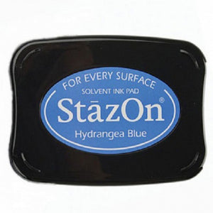 Staz-On - Solvent Ink - Hydrangea Blue