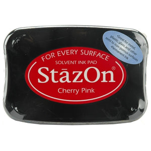 Staz-On - Solvent Ink - Cherry Pink