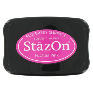 Staz-On - Solvent Ink - Fuchsia Pink