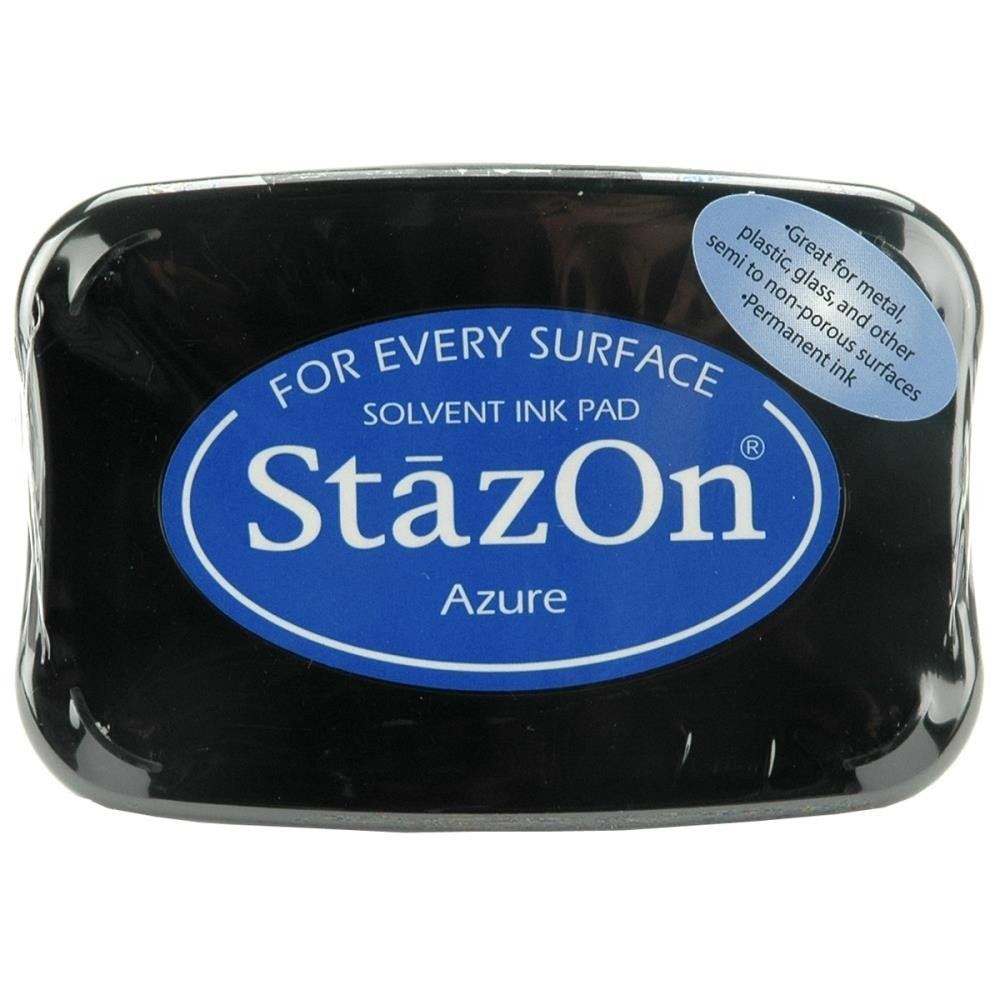 Staz-On - Solvent Ink - Azure