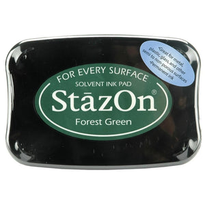Staz-On - Solvent Ink - Forest Green