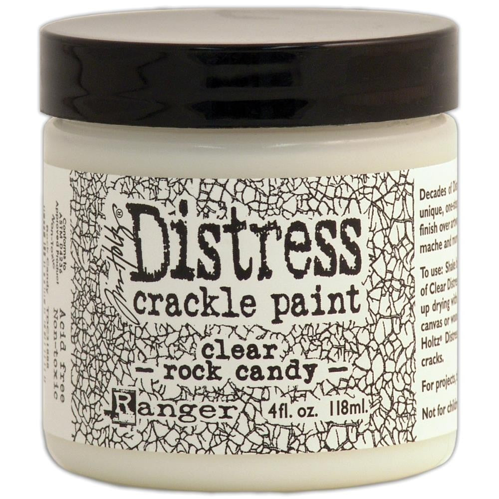 Tim Holtz - Distress Crackle Paint - Clear Rock Candy
