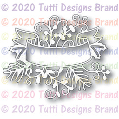Tutti Designs - Dies - Holiday Label