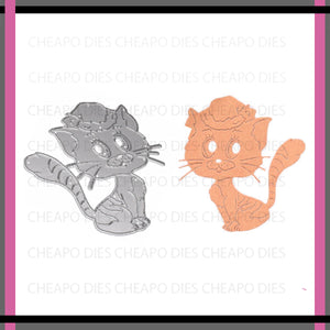 Unbranded Cutting Dies - Fancy Kitty