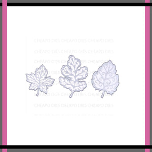 Unbranded Cutting Dies - Frilly Leaves